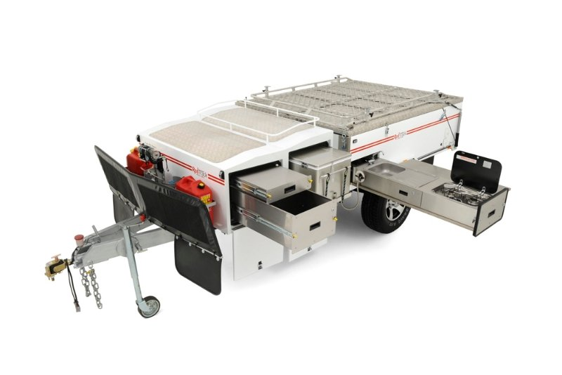 Redtrack Off-Road Camper Trailer - Series 1