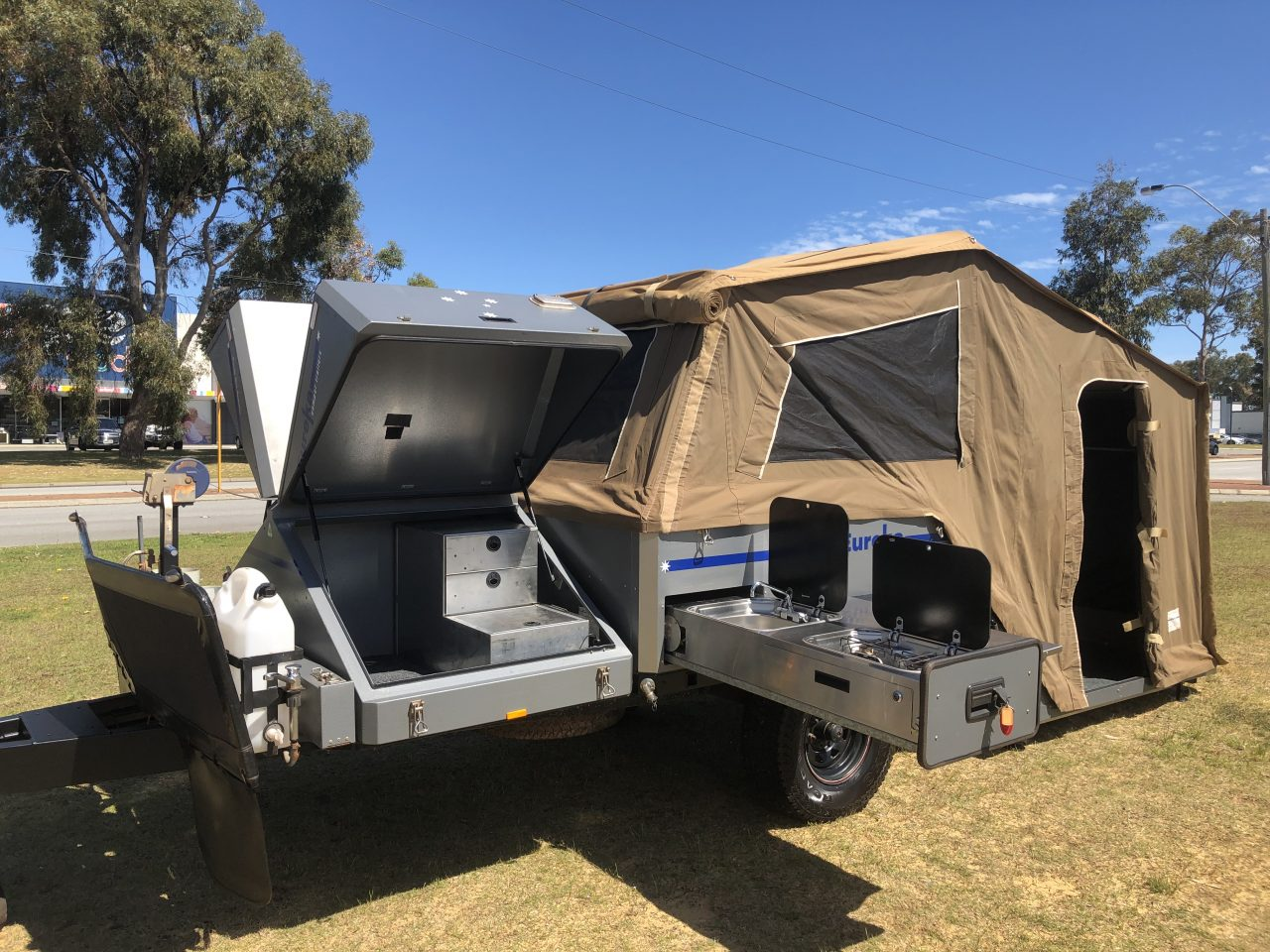 Explore our Eureka Offroad Camper Trailer Series 2