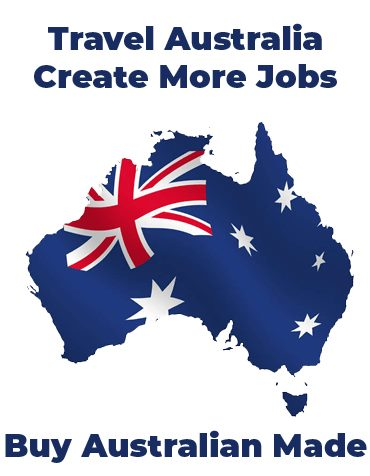 Travel Australia - Create more jobs - Buy Australian made