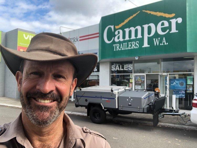hire eureka off road camper trailers