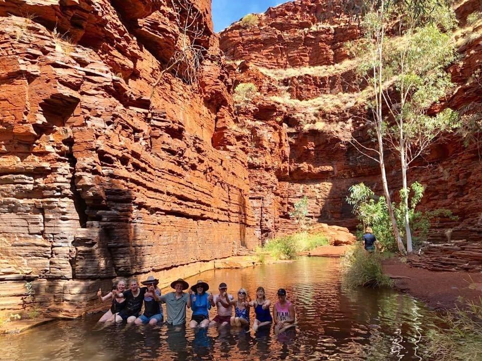 Kairjini Gorge - Redtrack Tours Western Australia