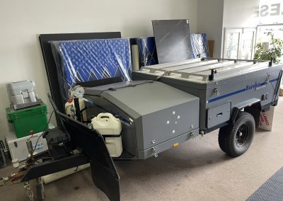 eureka offroad camper trailer